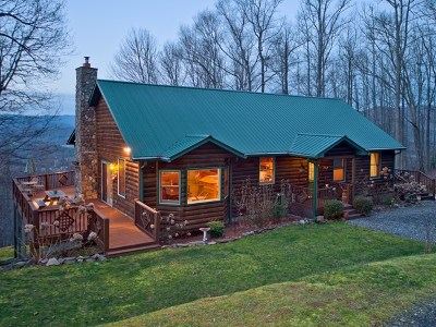 Jackson County Single Family Home For Sale: 1752 Levi Mathis Road