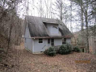 Single Family Home For Sale: 92 Cindy's Mountain Rd