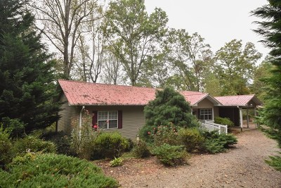 Single Family Home For Sale: 1667 Dowdle Mountain Road