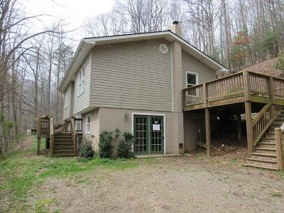 Franklin NC Single Family Home For Sale: $73,600