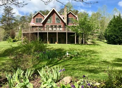 Single Family Home For Sale: 130 Robinson Gap Rd
