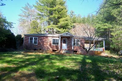 Single Family Home For Sale: 1136 Sugarfork Rd.