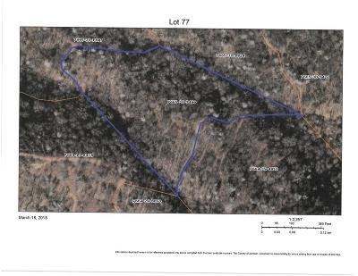 Residential Lots & Land For Sale: Lot 77 Plott Balsam Road