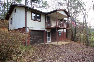 Franklin NC Single Family Home For Sale: $95,000