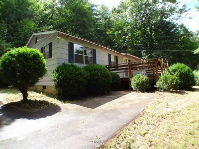 Macon County Single Family Home For Sale: 2715 Coweeta Church Rd