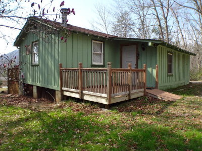 Otto Single Family Home For Sale: 245 Dover Knob Trace