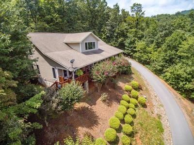 Franklin NC Single Family Home For Sale: $549,900