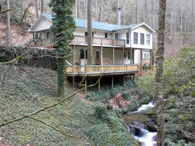 Franklin Single Family Home For Sale: 2567 Little Ellijay Road