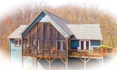 Jackson County Single Family Home For Sale: 525 Cabin Ridge