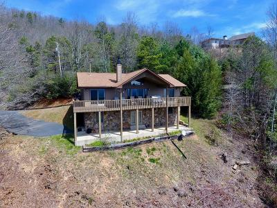 Franklin Single Family Home For Sale: 1209 Chinquapin Mountain Road