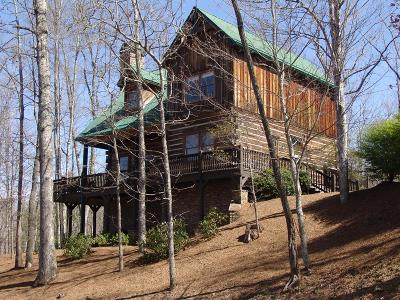 Franklin, Otto Single Family Home For Sale: 66 Lyle Mountain Trail