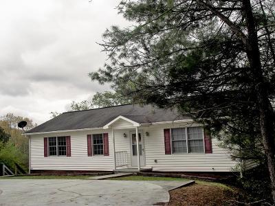 Single Family Home For Sale: 597 Lemons Branch