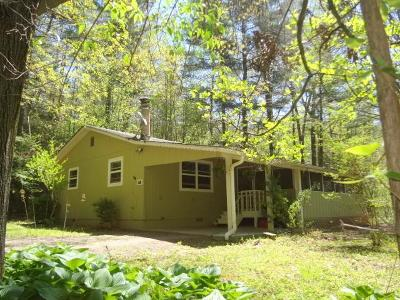 Franklin Single Family Home For Sale: 63 Watauga Heights Road
