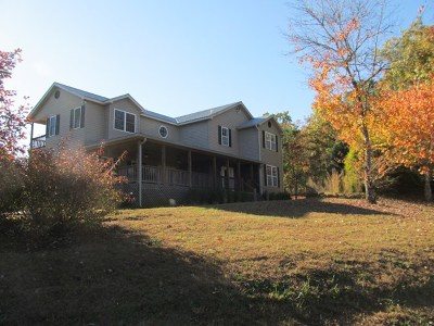 Franklin Single Family Home For Sale: 7959 Bryson City Rd.
