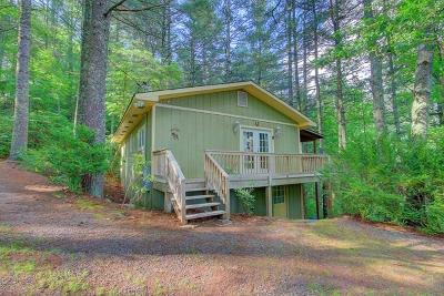 Single Family Home For Sale: 151 Buck Falls Road