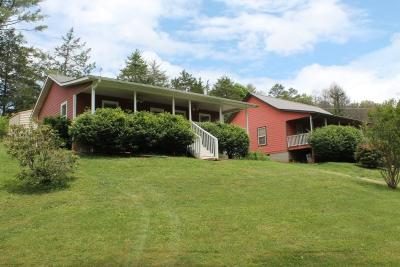 Franklin Single Family Home For Sale: 124&128 Kirkland Rd