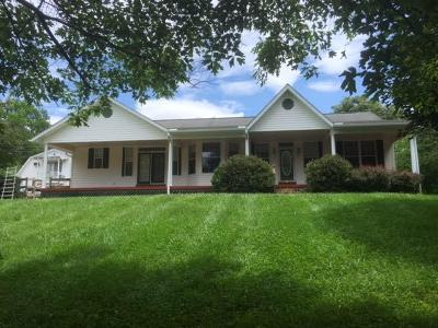 Single Family Home For Sale: 170 Fred Vinson Road