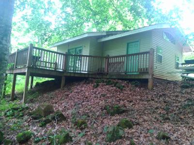 Franklin NC Single Family Home For Sale: $59,000
