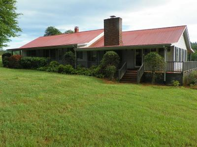 Single Family Home For Sale: 7186 Bryson City Road
