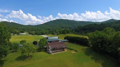 Franklin, Otto Single Family Home For Sale: 1145 Patton Road