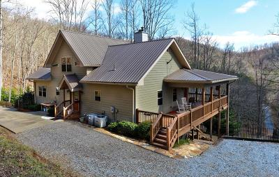 Franklin Single Family Home For Sale: 1272 Coon Creek Rd