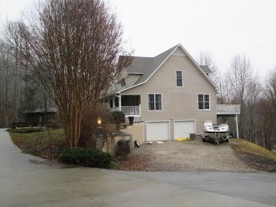 Bryson City Single Family Home Pending/Under Contract: 125 Carpenter Road