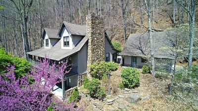 Sylva Single Family Home Pending/Under Contract: 206 Cavern Ridge