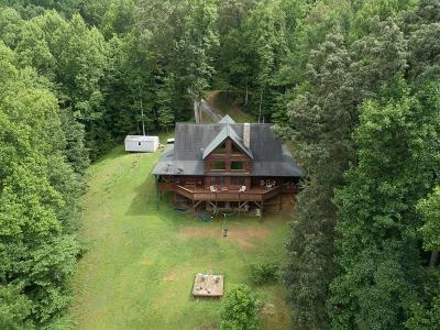 Macon County Single Family Home For Sale: 129 Mac's Mountain Retreat