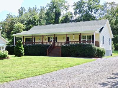 Jackson County Single Family Home For Sale: 163 Wike Cemetery Rd