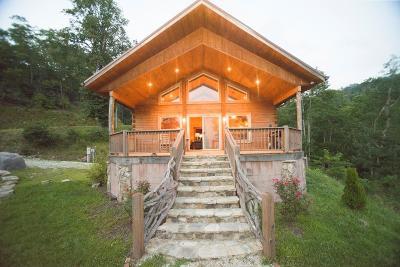Bryson City Single Family Home For Sale: 1352 Alarka Highlands