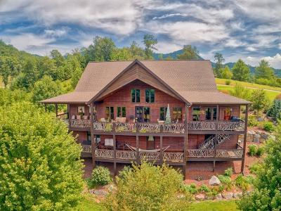 Franklin Single Family Home For Sale: 120 Sunset Mtn Trail