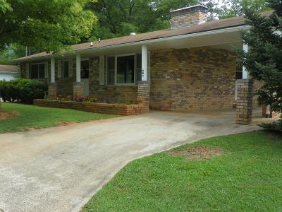 Franklin Single Family Home For Sale: 461 Brendle Road