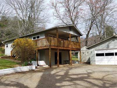Franklin Single Family Home For Sale: 24 Coweeta Lake Circle