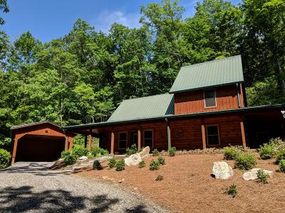 Jackson County Single Family Home For Sale: 1026 High Top Mountain Rd