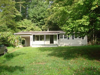 Otto Single Family Home Pending/Under Contract: 391 Norris Road
