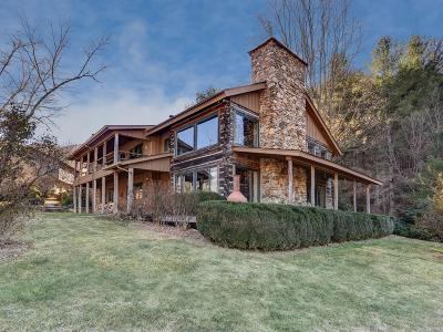 Cullowhee, Sylva, Webster, Whittier, Franklin, Otto Single Family Home For Sale: 619 Roy Tritt Road