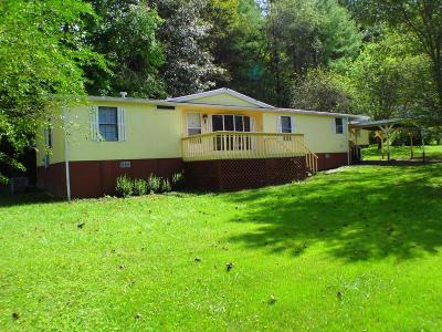 Franklin NC Single Family Home For Sale: $75,000