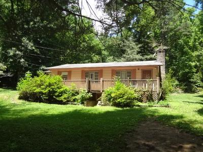 Franklin NC Single Family Home For Sale: $109,900