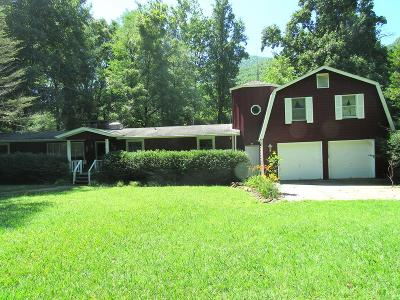 Single Family Home For Sale: 3368 Wayah Rd