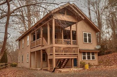 Bryson City Single Family Home For Sale: 205 Fiddlers Ridge