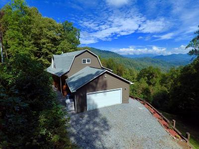 Jackson County Single Family Home For Sale: 872 Cabin Ridge Rd