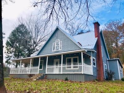 Franklin Single Family Home For Sale: 252 Rabbit Creek Rd