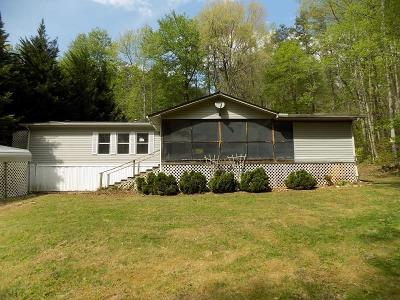 Murphy Single Family Home For Sale: 1265 Wehutty Road