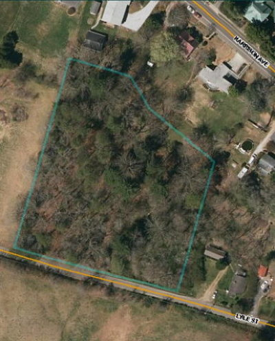 Franklin, Otto Residential Lots & Land For Sale: 00 Harrison & Lyle St