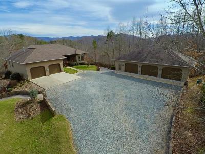 Bryson City Single Family Home For Sale: 4731 Fontana Lake Drive