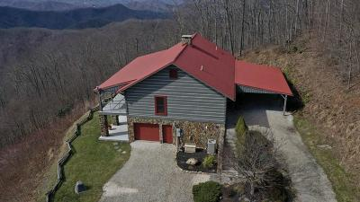 Bryson City Single Family Home For Sale: 1855 Eagles Roost