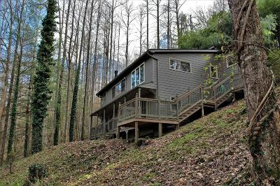 Sylva Single Family Home Pending/Under Contract: 3153 Little Savannah Rd
