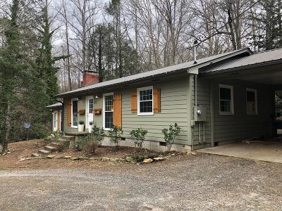 Franklin NC Single Family Home For Sale: $179,000