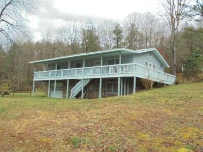 Franklin Single Family Home For Sale: 110 West Old Murphy Rd.