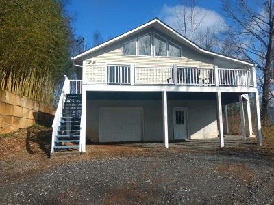 Sylva Single Family Home Pending/Under Contract: 848 Eagles Ridge